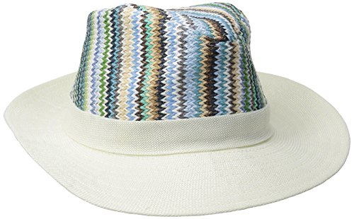 physician-endorsed-womens-zuma-small-packable-fedora-hat-white-one-size
