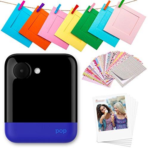 Polaroid POP 2.0 20MP Digital Sofortbildkamera mit 3,97 Touchscreen-Display, Zink Zero Ink-Technologie druckt 3,5 x 4,25 Fotos, Blau