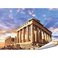 Leinwand-Bild Parthenon Akropolis in Athen Griechenland Bilder Wandbild