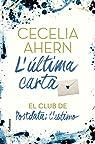 L'última carta: El Club de Postdata: t'estimo par Ahern