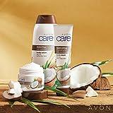 Avon Care Körperpflegeset KOKOS 4tlg.Cremeduschgel/Family-Creme/Handcreme/Gesichtscreme