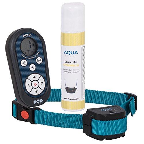 DOGTRACE Sprühhalsband Erziehungshalsband Spraytrainer für Hunde AQUA Spray D-300 Sprühtrainer -