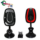 #3: myTVS TMH-24 Car Dashboard, WindScreen & A/c Vent Mobile Phone Holder-Red