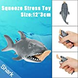 Clearance!!!2018 Slow Rising Squishies Jumbo, FEITONG 12cm Funny Toy Shark Squeeze Stress Ball Alternative Humorous Light Hearted New (Shark)