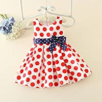 QTONGZHUANG Dress_New europäischen und Amerikanischen Kinder Baumwollkleid Kinder Explosion