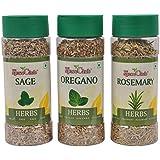[Sponsored Products]The Spice Club Rosemary 30 G Pet Jar + Oregano 50 G Pet Jar + Sage 40 G Pet Jar