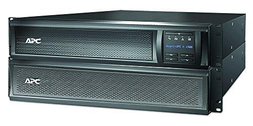 APC Smart UPS SMX - SMX1500RMI2U - USV 1500VA (Rack / Tower, bis zu 14 min. Überbrückungszeit bei Stromausfall, LCD Panel, ECO Mode - Stromsparfunktion) - Apc Home Office