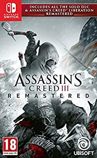 Assassin's Creed III Remastered (Nintendo Switch) (B07NQS72TW) | Amazon Products