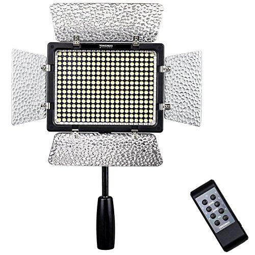 YONGNUO YN-300 III 3200k-5500k LED video Luce per DSLR Canon Nikon con il IR Funzionamento Remote