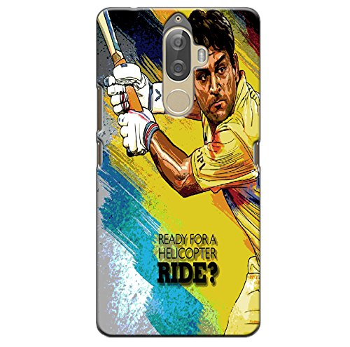 GOSMARTKART LENOVO K8 NOTE HIGH QUALITY DHONI(CHENNAI SUPER KINGS) PRINTED BACK COVER