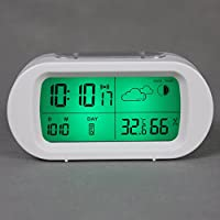 OLILEIO Kreative elektronischer Wecker, Kalender, Kalender, Temperatur und Feuchtigkeit Meter, Mode, nette Studenten... preisvergleich bei billige-tabletten.eu