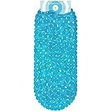 Circul Badewannenmatte 99 x 39 cm blau Steinoptik modern