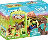 PLAYMOBIL 70120 Spirit-Riding Free Pferdebox Snips & Herr Karotte, bunt