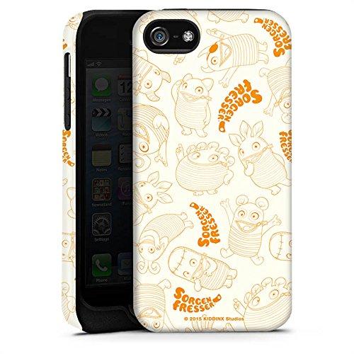 Apple iPhone X Silikon Hülle Case Schutzhülle Sorgenfresser Figur Fanartikel Merchandise Tough Case matt