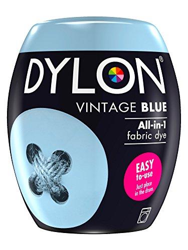 Dylon Maschine Dye Pod, blau Vintage, 8.5 x 8.5 x 9.9 cm -