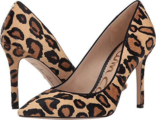 Edelman Brahma Leopard Sam Pumps Nude New Damen Hazel Leopard Hair Sxqwdqg8B