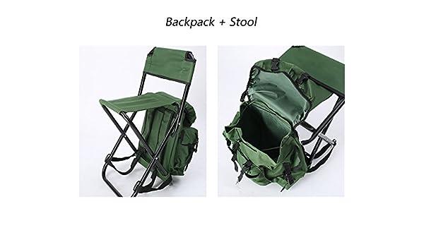 Tz ted sgabello pieghevole sedia portatile di ghiaccio pesca