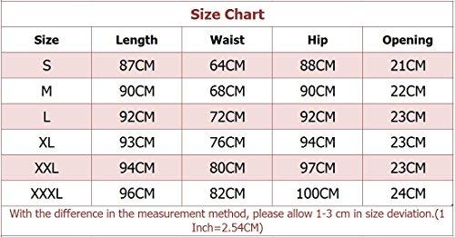 Uomo Sportivi Leggings a Compressione Camuffamento Base Strato Termico Fintess Pantaloni Come Immagine