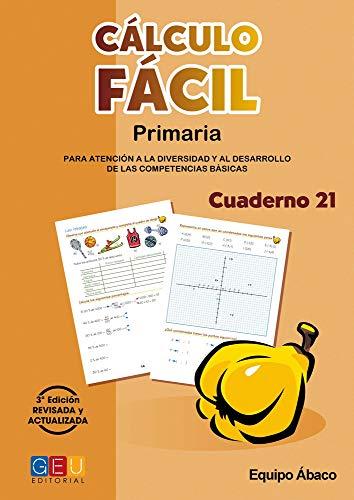 Cálculo Fácil - Cuaderno 21