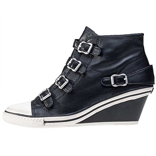 Cenere, Damen Sneaker Nero