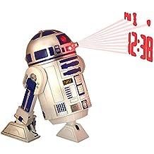 Reloj despertador Proyector R2D2. Star Wars
