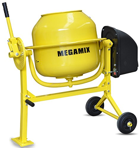 cement-mixer-megamix-cm70-240v-electric-portable-concrete-mortar-cement-mixer-70l-capacity-drum-port