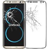 ebestStar - pour Samsung Galaxy S8 - Film écran en VERRE Trempé INCURVE anti casse anti-rayures (protection Intégrale, couverture complète des bords arrondis ou incurvés de l'écran), Couleur Transparent [Dimensions PRECISES de votre appareil : 148.9 x 68.1 x 8 mm, écran 5.8'']