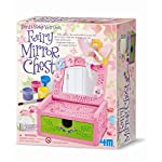 Paint Your Own Fairy Mirror Chest - Girls Girl Children Child Kids - Design Your Own Set - Number One Birthday Present Gift Fun Toys & Games Idea Age 5+