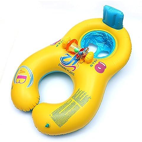 Inflable anillo de natación de la piscina para la madre y del bebé 0-2 años