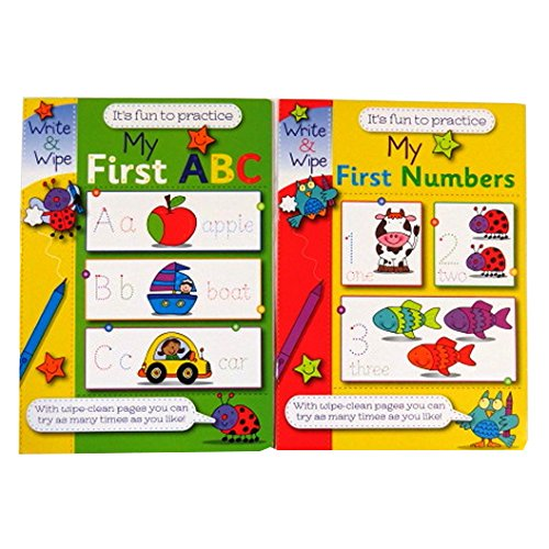 childrens-a4-educational-wipe-away-books-my-first-abc-and-my-first-numbers-each-8-pages-by-martello