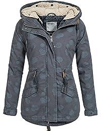 83e1515a33cbf Amazon.it  Giacca Cotone Blu Donna - Donna  Abbigliamento