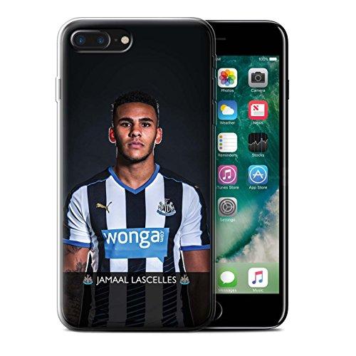 Officiel Newcastle United FC Coque / Etui Gel TPU pour Apple iPhone 7 Plus / Haïdara Design / NUFC Joueur Football 15/16 Collection Lascelles