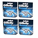 Gillette Sensor Excel Razor Cartridges 20 Pack/GENUINE