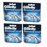 Gillette Sensor Excel Razor Cartridges 20 Pack/GENUINE