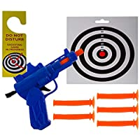 Great Gifts For Everyone Newest present gift. Rubber Darts Shooting set. Have Fun On the Toilet