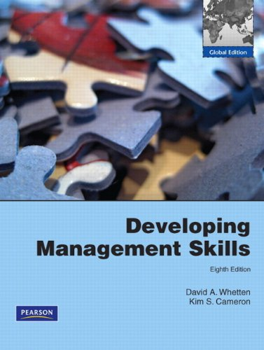Developing Management Skills with MyManagementLab:Global Edition
