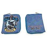 MUSTD Portafoglio con Cerniera Hogwarts College Badge Porta Carte Lungo Pochette Uomo e Donna Cambia Cartella-I