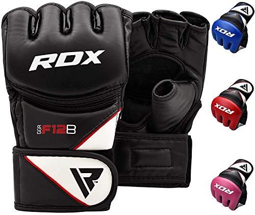 Nuestros guantes MMA con tecnología avanzada ofrecen una fortificación definitiva para las manos de los luchadores, creados para protegerle de cualquier golpe, gancho o golpe de martillo mientras mejora su técnica de golpeo en el entrenamiento. Con u...