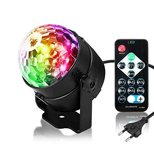 ED LED Partylicht Wasser plätschert Lichter LED Ozeanwelle lichteffekte Party Lampe Discolicht mit Fernbedienung 4W für Festival Bar Club Party Hochzeit Konzert ()