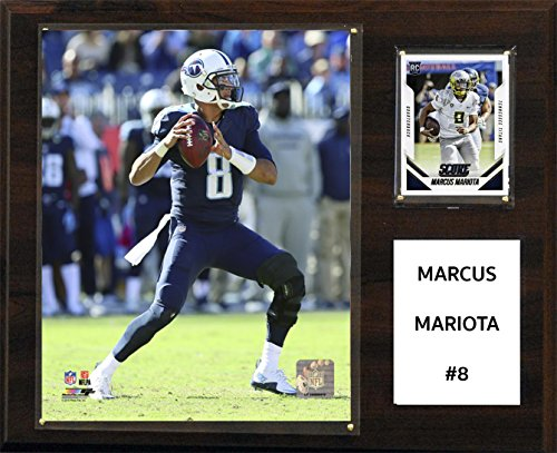 NFL Tennessee Titans Marcus Mariota Player Plaque, 30,5 x 38,1 cm (Tennessee-player)