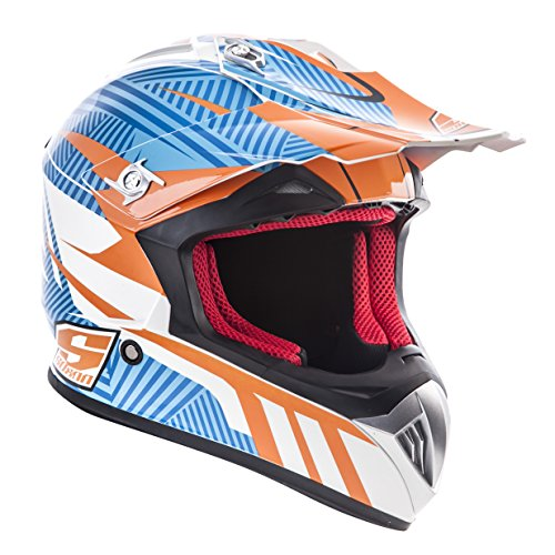 Speed-mix (Soxon Cross Enduro Helm Crosshelm Endurohelm Motorradhelm Motocross, Mehrfarbig (Speed Mix), M)