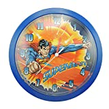 Toy Joy 106288-Orologio a forma di Superman, in plastica, 26 x 4 x 26 cm