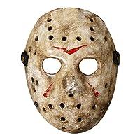 Maskjunction Jason Vorhees CARDBOARD mask (NOT PLASTIC OR 3D) JUST CARDBOARD