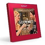 mydays Magic Box: Gourmet Dinner - Restaurant-Gutschein - 4-gängiges Candle-Light-Dinner für zwei