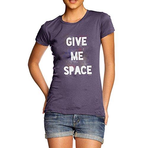 TWISTED ENVY  Damen T-Shirt Pflaume
