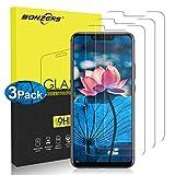 NONZERS Verre Trempé pour Huawei Mate 20 Lite [3 Pack] HD Anti-Rayures sans Bulle d'air Dureté 9H Protecteur d'écran en Verre Trempé Transparent pour Mate 20 Lite