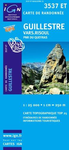 top25-3537et-guillestre-vars-risoul-wanderkarte-mit-einem-kostenlosen-massstabslineal