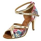 HXYOO Ballroom Salsa Latin Tango Dancing Shoes...