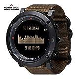 RENYAYA North Edge Herren Sport Digitale Uhrzeiten für das Laufen Schwimmen Militärarmee Uhren...