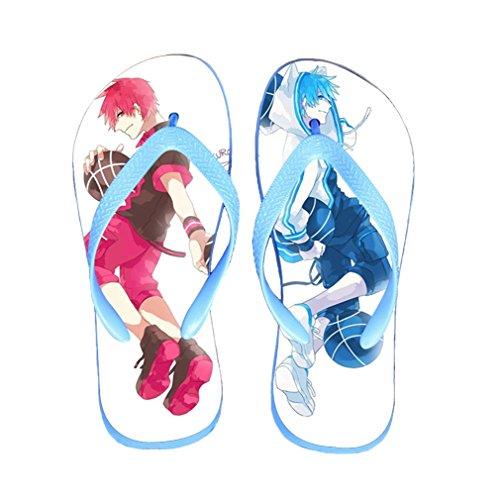 Bromeo Kuroko No Basuke Anime Unisex Flip Flops Zehentrenner Flip Pantoffeln 426